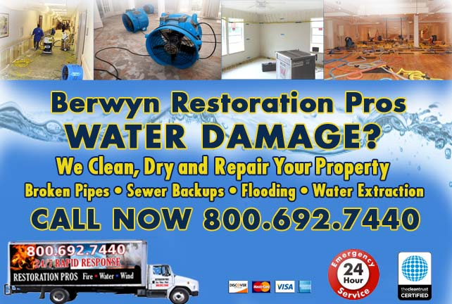 Berwyn water damage restoration
