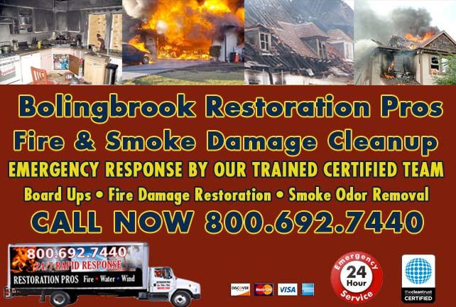 Bolingbrook fire damage repair