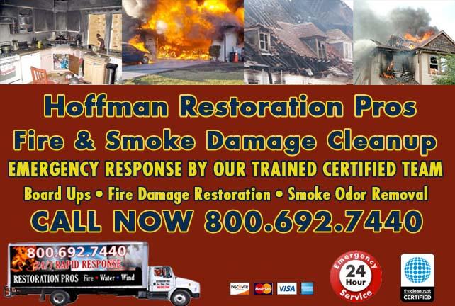 Hoffman fire damage repair