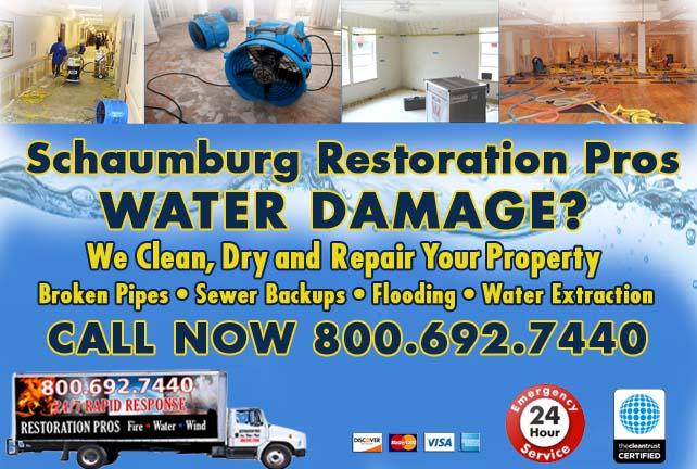 Schaumburg water damage restoration