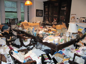 home clutter hoarding cleanup illinois
